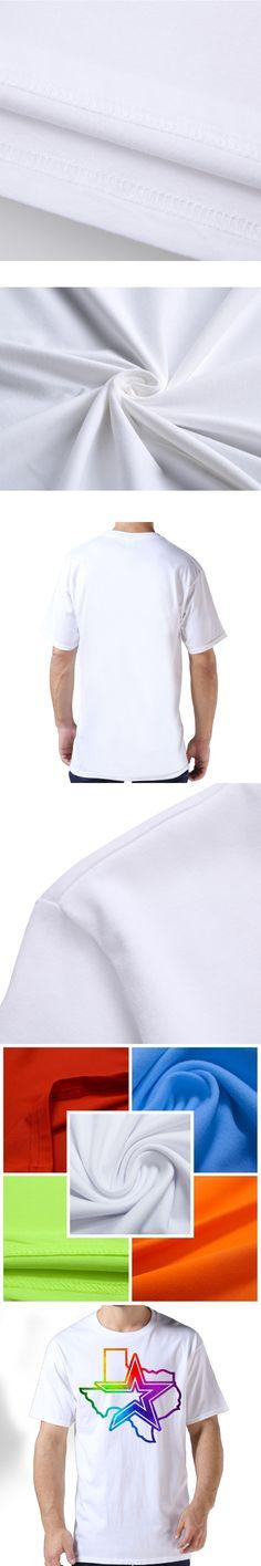 2017 Texas Lone Star State Map Watercolors Printed Premium Cotton Summer Shirt Man  Hipster Cartoon Custom