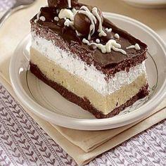 Dezert bez múky: Gaštanové rezy krok za krokom Czech Recipes, Ethnic Recipes, Dessert Recipes, Desserts, Vanilla Cake, Tiramisu, Cheesecake, Paleo, Food And Drink