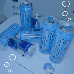 Aesthetic Images, Aesthetic Grunge, Blue Aesthetic, Monster Pictures, Monster Crafts, Monster Energy Girls, Indie Kids, Aesthetic Iphone Wallpaper, Energy Drinks
