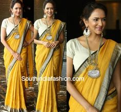 Lakshmi Manchu in an Anavila saree photo