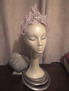 Mermaid Moss Crown by Charity Daw Millinery