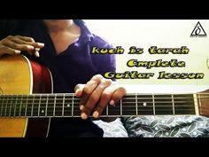 kuch is tarah - Atif aslam | Complete Guitar lesson | Intro,chords& stru...