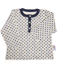 Boy's Print Shirt - Organic Baby Clothes by endue endue is more than just soft organic baby clothing, with each purchase endue will feed a child in need.