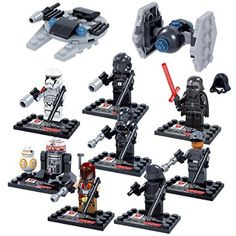 Amazon.com: Shiv 16pcs/Set STAR WARS Collection Sith Jedi Knight Building Bricks Blocks Super Hero Figures Minifigures Toys Compatible With Lego OneSize, Multicol: Toys & Games