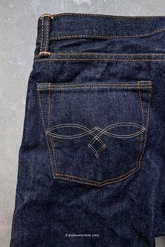 RRL Levis Jean Jacket, Sewing Pants, Japanese Denim, Denim Branding, Raw Denim, Men Style Tips, Denim Fashion, Daily Fashion, Indigo