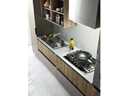 Linear fitted kitchen ARIEL - COMPOSITION 3 by Cesar Arredamenti
