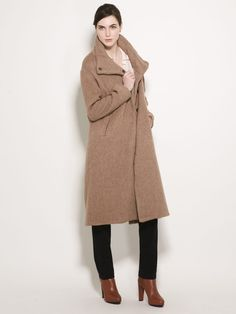 Long Wool Coat by Anagram by Gary Graham on Gilt.com