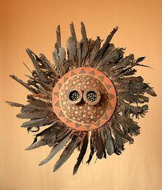 "artafrica: "" Pende mask, Congo """