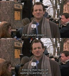 Groundhog Day Movie Quotes Glamorous 20 Photos Of Groundhog Day Movie  News & Images  Hattyphoto