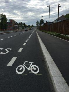 Sykkelfelt, Løren, Oslo