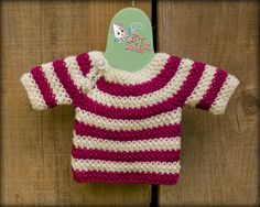Easy Top Down Sweater Free crochet pattern