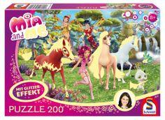 Glitzerpuzzle Mia and Me - In Centopia - 200 Teile