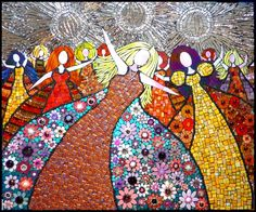 Ladies Night Out #Mosaic By Neena Lio