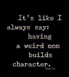 Or, a weird family.