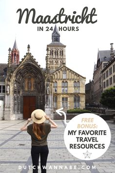Complete city guide to Maastricht, Netherlands with things to in Maastricht in 24 hours + Free Trip Planning Resources for The Netherlands!