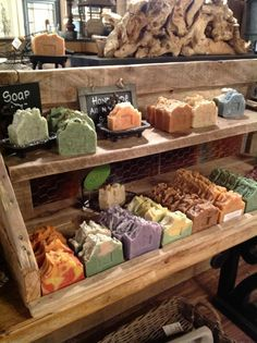 Southern Grace-homemade soap-Pineapple Park - Home Made Soap Craft Fair Displays, Display Ideas, Savon Soap, Soap Shop, Homemade Soap Recipes, Soap Packaging, Goat Milk Soap, Home Made Soap, Handmade Soaps