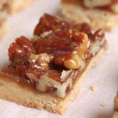 Pecan Shortbread Bites