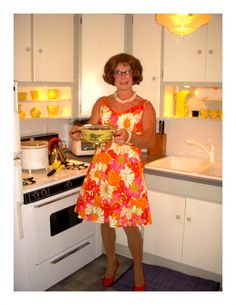 1950's ( later, if you ask me) Girly Man, Dream Life, Crossdressers, Transgender, 1950s, Dress Up, Husband, Summer Dresses, Housewife
