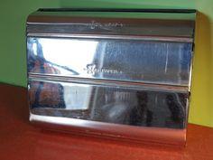 1950s Vintage Chrome Kreamer Ware Kitchen Foil, Wax Paper and Paper Towel Dispenser by retrowarehouse, $30.00