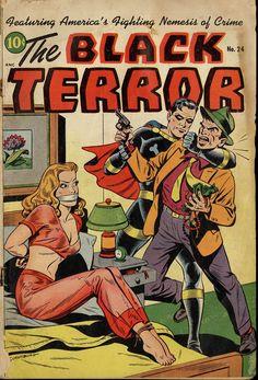 Digital Comic Museum Viewer: Black Terror 024 - BlackTerror24-01.jpg