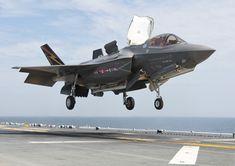 Novo caça F-35 faz primeira decolagem em rampa - Airway Online