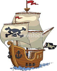 bateau pirate dessin couleur - Recherche Google
