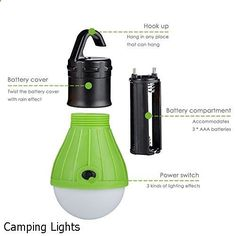 Camping Lights - massive variety. Must visit...