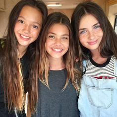 Laneya Grace, Lily Kruk, and Lily Chee Laneya Grace, These Girls, Cute Girls, Lily Chee, Kristina Pimenova, Cute Girl Photo, Baby Family, Belle Photo, Beautiful Eyes