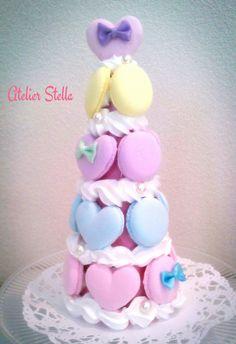 Macaron Tower, Macarons, Children, Cake, Young Children, Boys, Kids, Kuchen, Macaroons