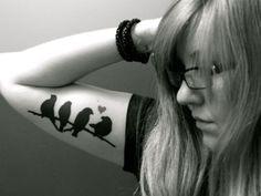 love bird tattoo