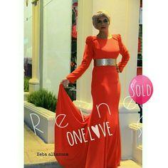 Sold Out    | Reine |  +962 798 070 931 ☎+962 6 585 6272  #Reine #BeReine #ReineWorld #LoveReine  #ReineJO #InstaReine #InstaFashion #Fashion #Fashionista #FashionForAll #LoveFashion #FashionSymphony #Amman #BeAmman #Jordan #LoveJordan #ReineWonderland #Dress #Gown #Modesty
