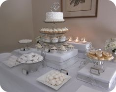 if we need any elevation on dessert table wrap boxes in the brown contractors paper or burlap and pit ribbon around it