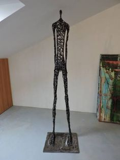 """Saatchi Art Artist Michele Rizzi; Sculpture, """"""""Deep contemplation"""" (Star man, h.213)"""" #art"""