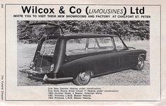 Daimler DS420 Hearse,   open........
