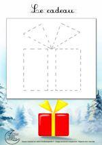 Dessin1_Comment dessiner un cadeau de Noël ?
