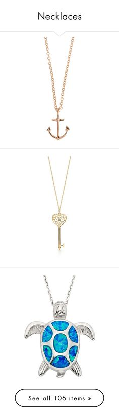 """Necklaces"" by marcia-c377 ❤ liked on Polyvore featuring jewelry, necklaces, accessories, colares, colorless, initial pendant necklace, letter necklace, yellow gold pendant necklace, initial necklace and gold anchor necklace"
