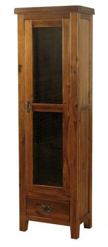 Roscrea 1 Door Display Cabinet , Roscrea display cabinet, Acacia display cabinet, roscrea furniture, Cork furniture