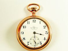 Mega Rare Antique 18s Official Railroad Gold Ball Watch Company Pocket Watch #Ball #Ball pocket watch #18s Ball Pocket watch #Gold Pocket watch