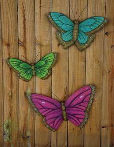 Amazing Blossoms and Breezes Butterfly Wonders Trio Wall Art