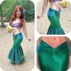 SEA MELODY- mermaid tail, little mermaid tail costume, mermaid costume, adult…