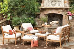 Coral outdoor space