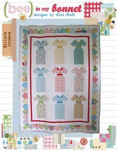 very cute dress quilt