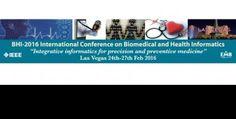 라스베가스 생의학 및 의료정보 컨퍼런스 BHI/EMBS 2016 The IEEE International Conference on Biomedical and Health Informatics