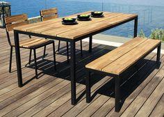Une terrasse en bois total look