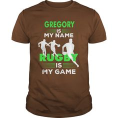 Rugby Is My Game - Gregory Name Shirt #gift #ideas #Popular #Everything #Videos #Shop #Animals #pets #Architecture #Art #Cars #motorcycles #Celebrities #DIY #crafts #Design #Education #Entertainment #Food #drink #Gardening #Geek #Hair #beauty #Health #fitness #History #Holidays #events #Home decor #Humor #Illustrations #posters #Kids #parenting #Men #Outdoors #Photography #Products #Quotes #Science #nature #Sports #Tattoos #Technology #Travel #Weddings #Women