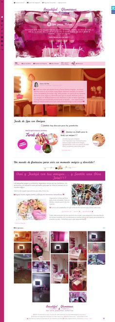 Spa para pequeñas señoritas, Fiestas de cumpleaños para niñas de 4 a 15 años.
