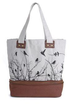 Away We Crow Bag, #ModCloth
