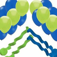 Seattle Seahawks Super Bowl Party - Easy Decorations