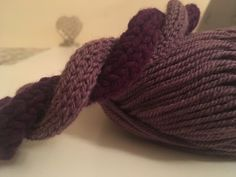 Twisted headband in two shades of purple wool. A medium soft purple wool combined with a deep, rich and thick purple wool to create this look. Perfect gift for her this winter, Christmas. Soft Purple, Shades Of Purple, Perfect Gift For Her, Gifts For Her, Twisted Headband, Sell Items, Winter Christmas, Different Styles, Hand Knitting