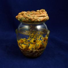Blue Ringed Octopus Perma-Pet - Original Cephalopod Sea Life Sculpture